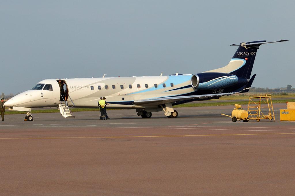 Avião Jato Executivo Embraer Legacy 600