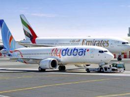 Avião Boeing 777 Emirates 737 flydubai