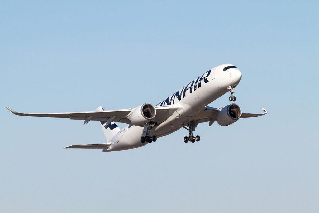 Avião Airbus A350-900 Finnair