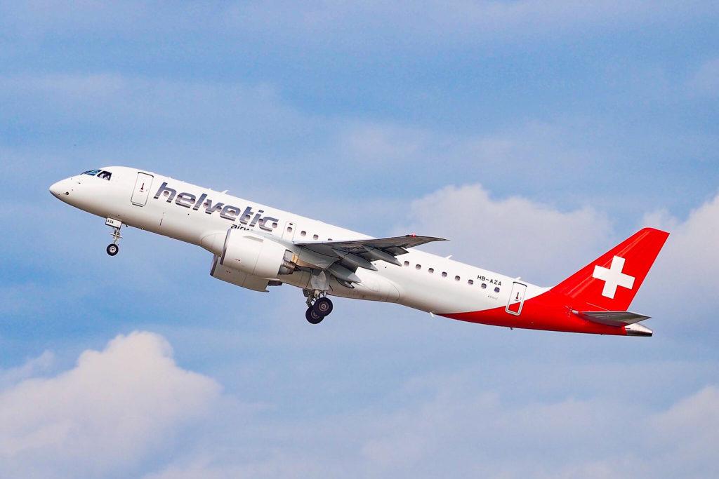 Avião Embraer E190-E2 Helvetic Airways