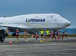 Corrida Maratona Olimpíadas Aeroporto Twente