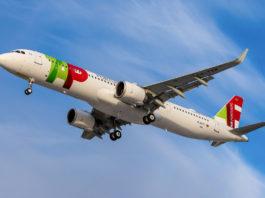 Avião Airbus A321neo A321LR TAP Air Portugal