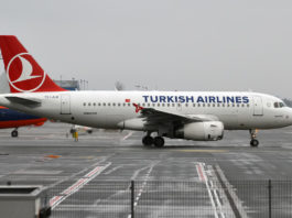 Airbus A319-100 Turkish Airlines