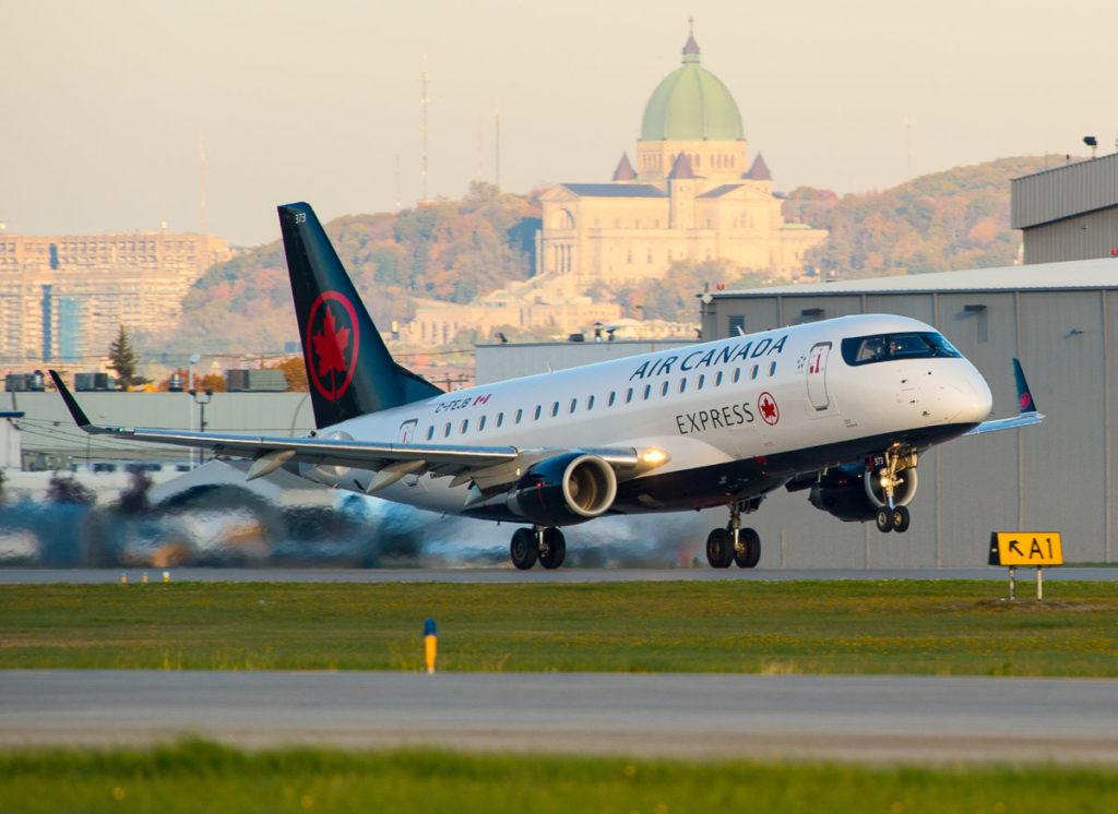 Avião Embraer E175 Air Canada Express Jazz Aviation