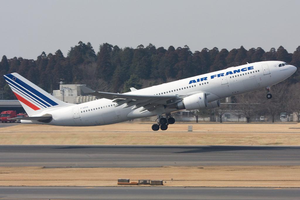 Avião Airbus A330-200 Air France AF447