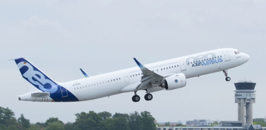 Avião Airbus A321neo