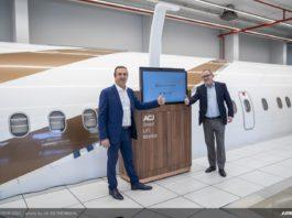 Airbus ACJ IFE LiFi