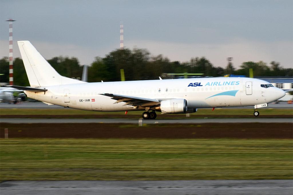 Boeing 737-400 da ASL Airlines Belgium