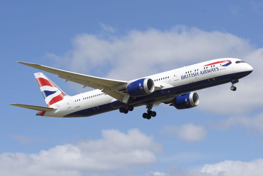 Avião Boeing 787-9 British Airways
