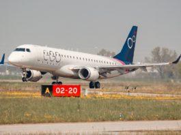 Avião Embraer E190 EGO Airways
