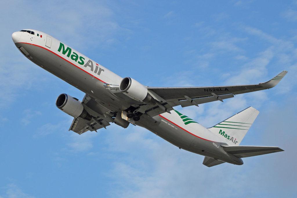 Avião Boeing 767-300F MasAir Cargo