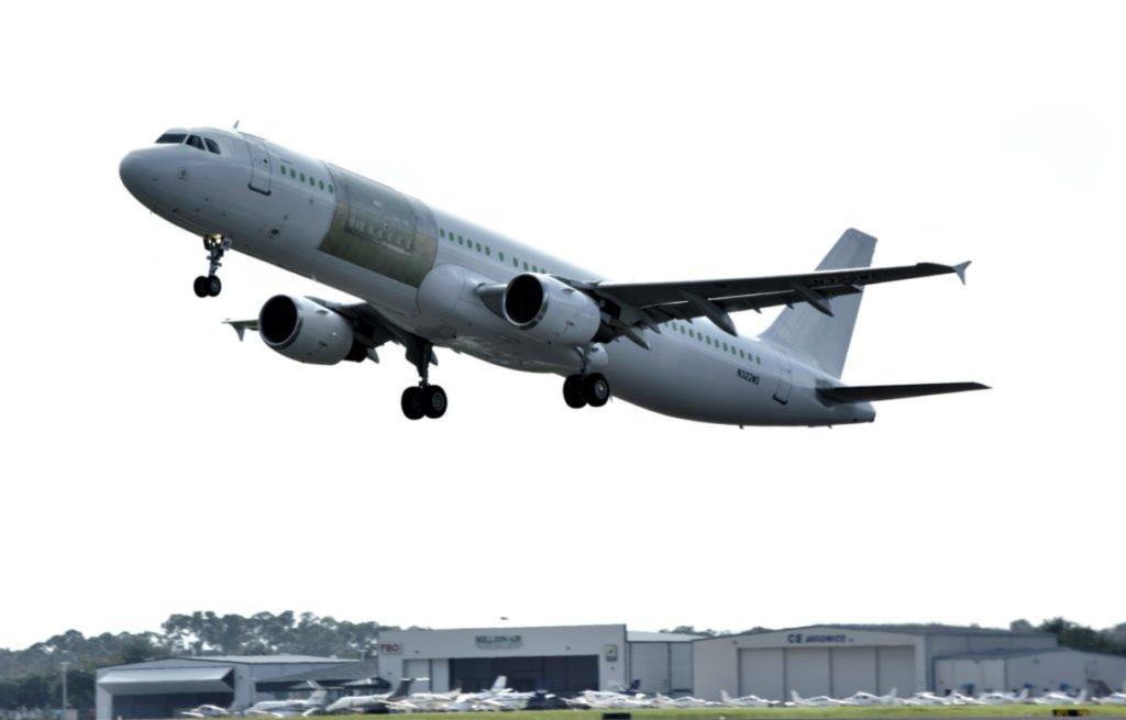 Precision avião Airbus A321 PCF Convertido
