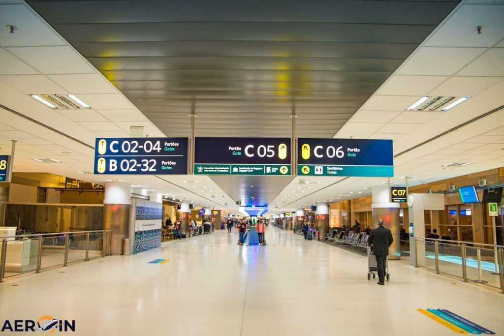 Desembarque Aeroporto Internacional de Viracopos